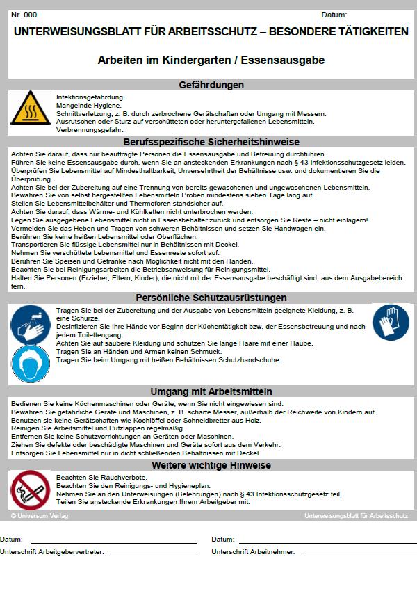14 Suss Allgemeine Sicherheitsunterweisung