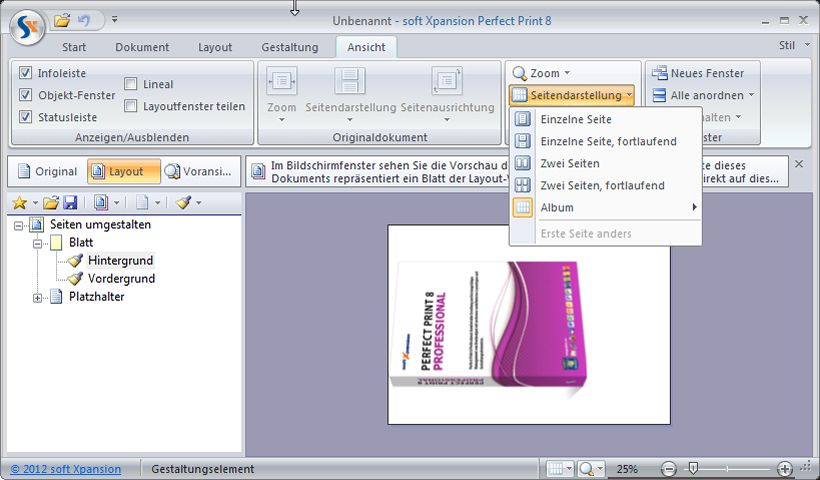 Produktbild zu Soft Xpansion - Perfect Print 8 Professional