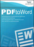 Wondershare - PDF 2 Word Converter