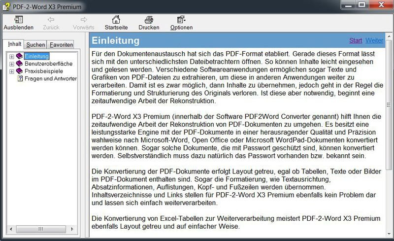 BHV Software - PDF-2-Word X3 Premium