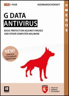 GDATA Software - G Data Antivirus - 2 Jahre & 3 PCs