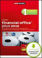 Produktbild zu Lexware - financial office plus 2016