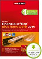 Produktbild zu Lexware - financial Office Plus Handwerk 2016