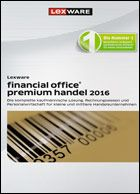 Produktbild zu Lexware - Financial Office Premium Handel 2016
