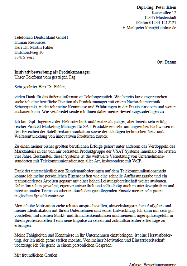 Musterbewerbung Fur Die Schweiz Vorlage Im Online Editor 15