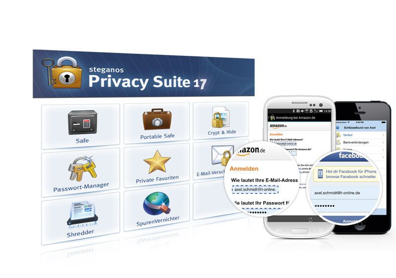 Produktbild zu Steganos - Privacy Suite 17