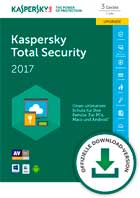 Kaspersky - Total Security Multi-Device 2017 1 Jahr 3 PC