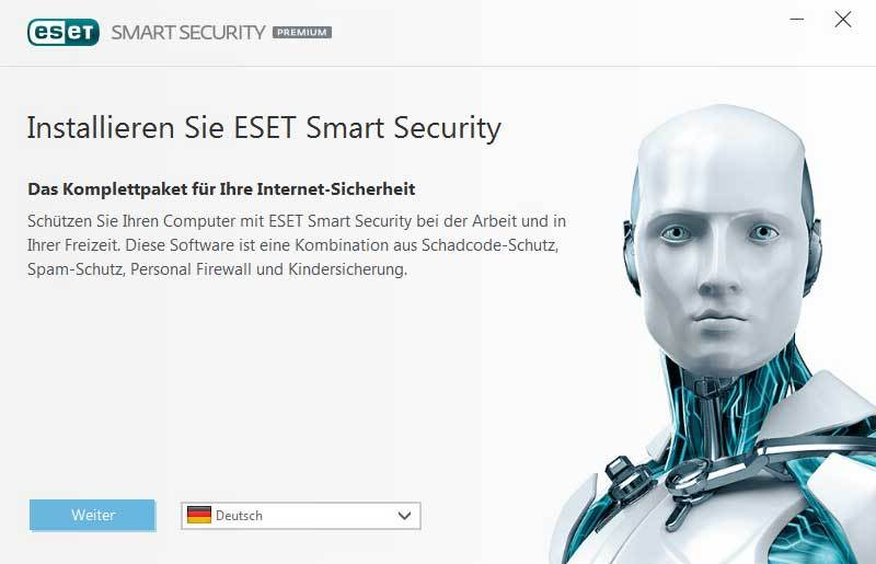 Produktbild zu ESET. - Smart Security Premium 2017 Edition 1 Jahr & 3 PC