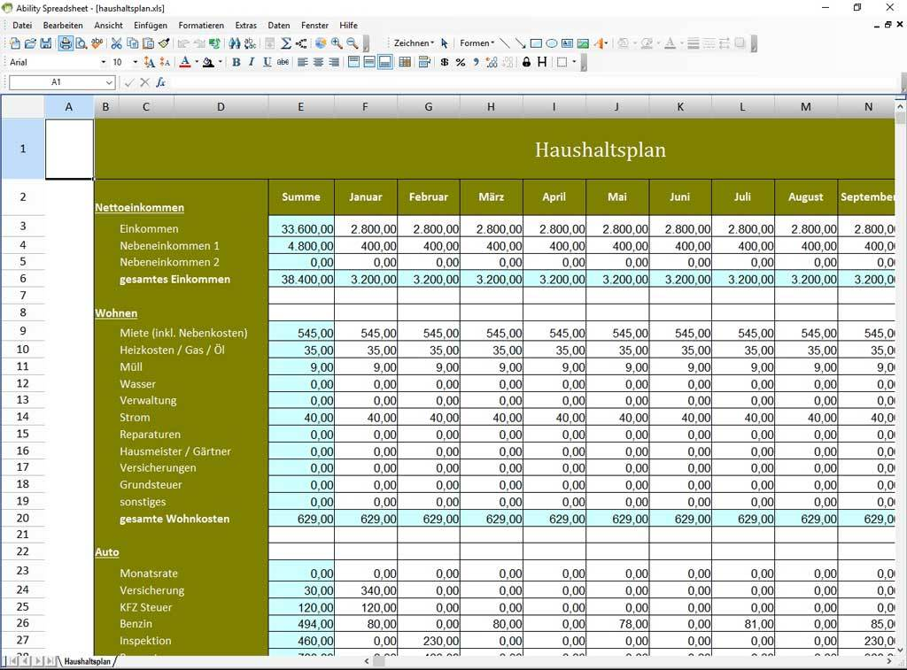 Produktbild zu Avanquest DE - Ability Office 7