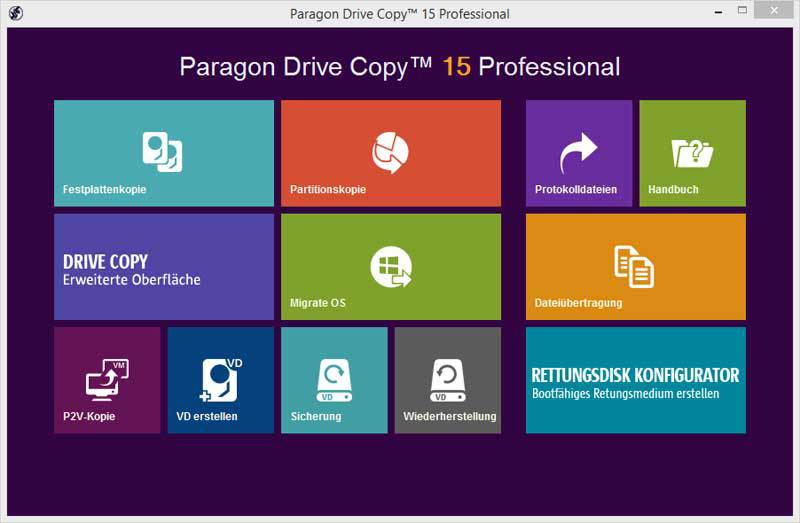 Paragon Software - Paragon Drive Copy 15 Professional