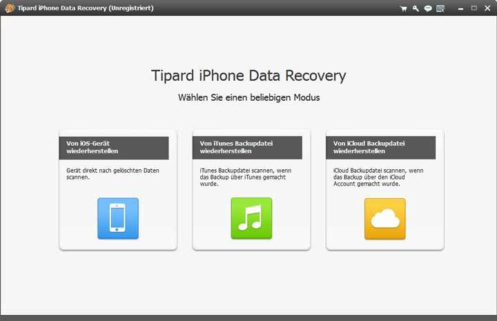 Tipard - Mac iPhone Data Recovery