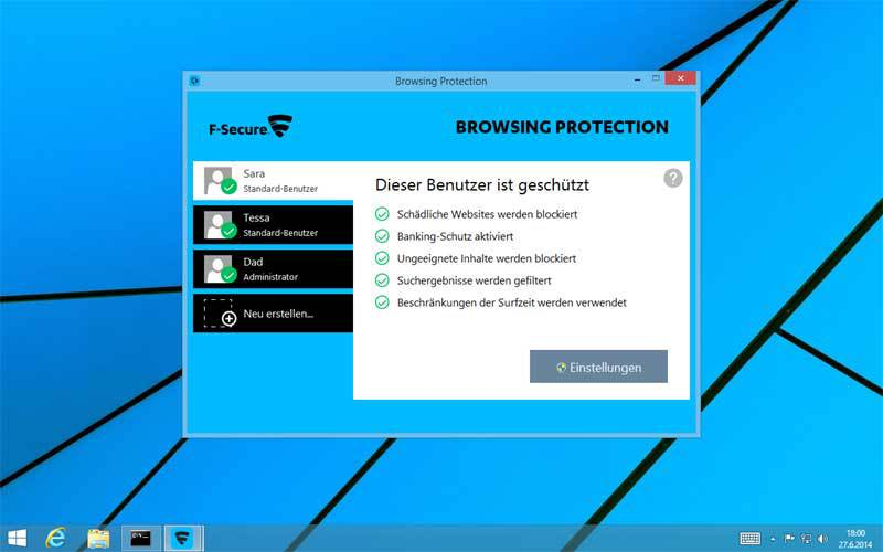 F-Secure - Internet Security 1 Jahr 1 PC