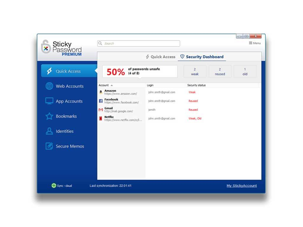 Sticky Password - Sticky Password Premium - 1 user / lifetime