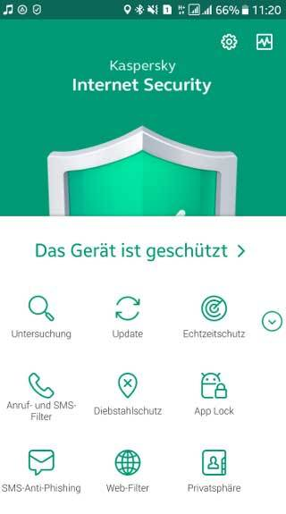 Kaspersky - Internet Security for Android - 2 Geräte 1 Jahr