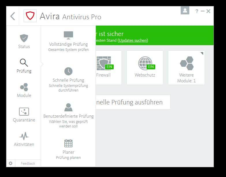 AVIRA - Total Protection Plus 2018 1 Jahr 1 PC