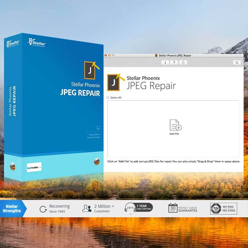 Stellar Information Technology Private Limited - Stellar Phoenix JPEG Repair V5 Mac
