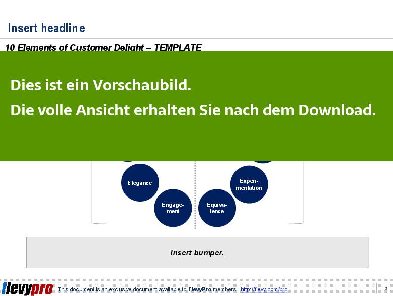 Powerpoint Präsentation - Strategie & Transformation (Diagramme)