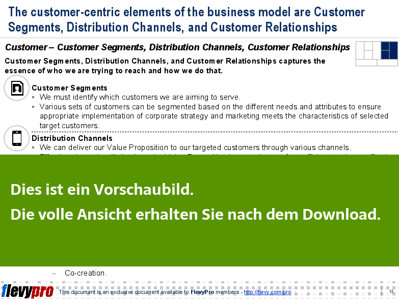 Customer-centric elements - Ein Einblick.