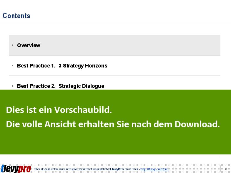 Fantastisch Vorlage Des Strategischen Engagementplans Zeitgenössisch ...