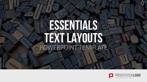 Powerpoint Präsentation - Text Layout