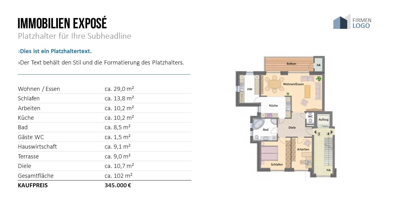 Designstarke Vorlagen Fur Immobilienfirmen