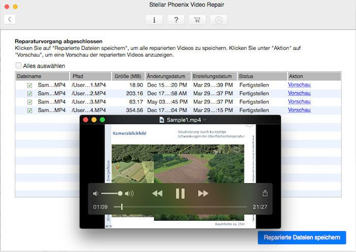 Stellar Information Technology Private Limited - Video Repair V3 Mac