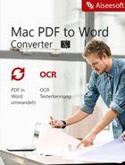 Aiseesoft - Mac PDF to Word Converter  - 2018
