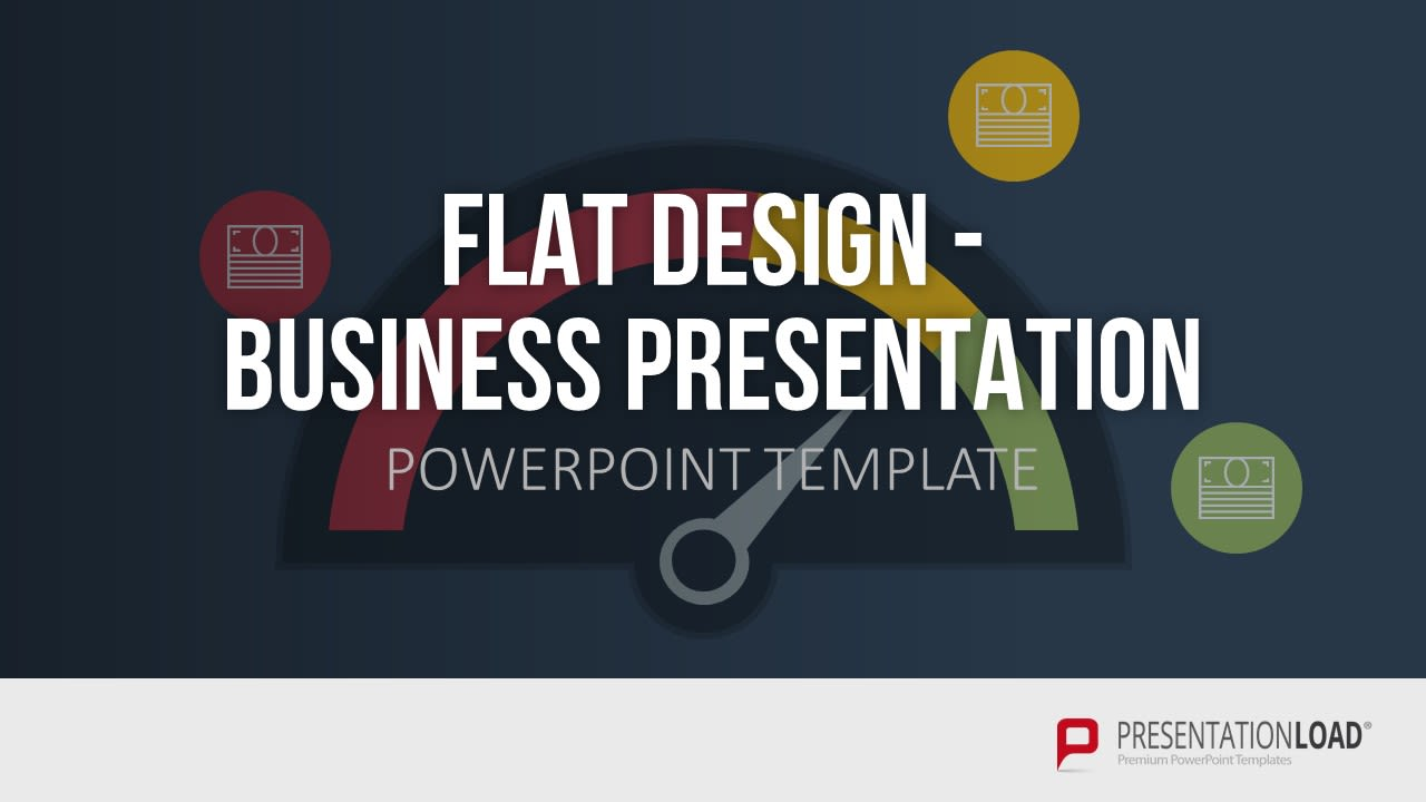 Powerpoint Präsentation - Business Presentation - Flat Design
