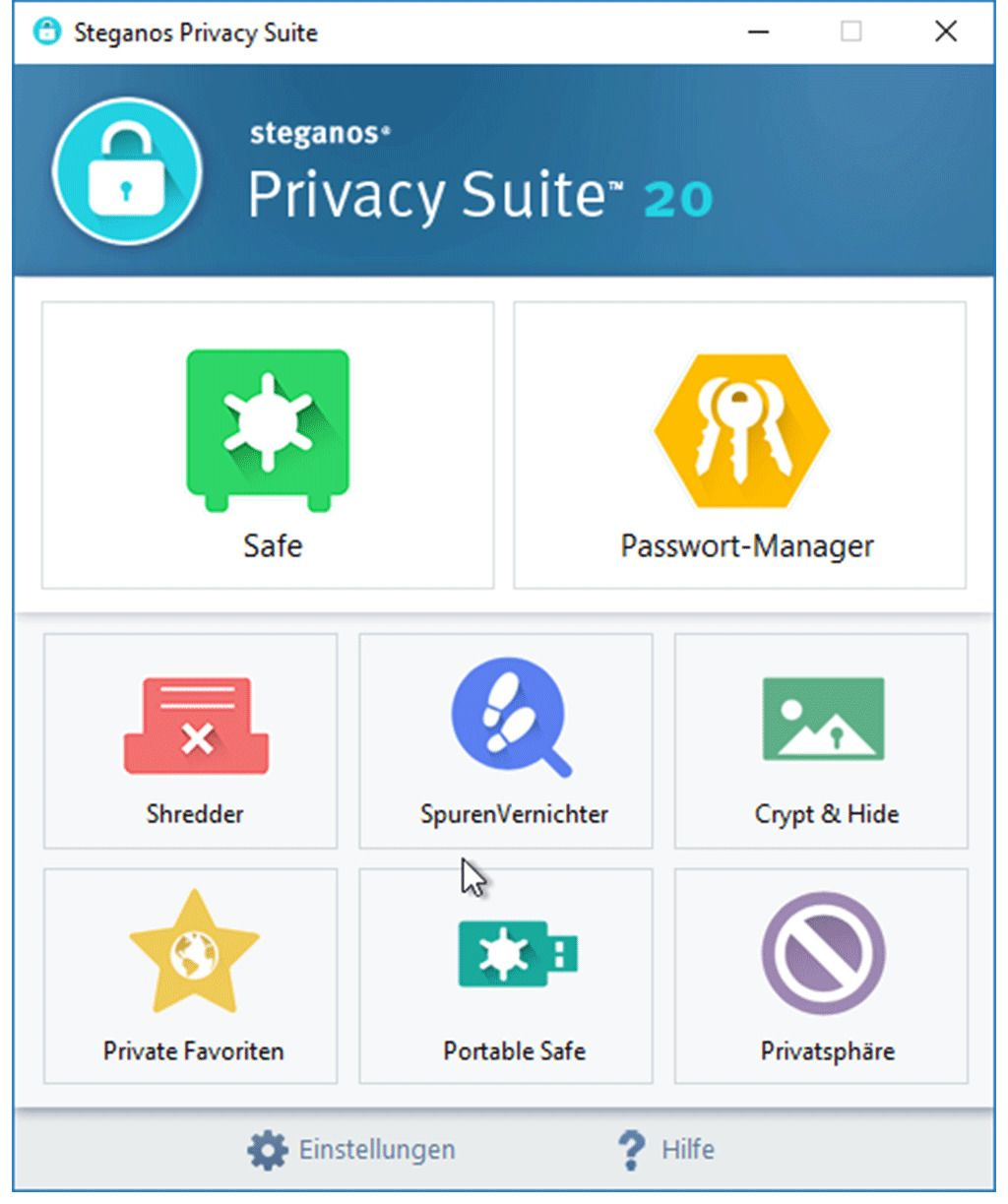 Steganos - Steganos Privacy Suite 20