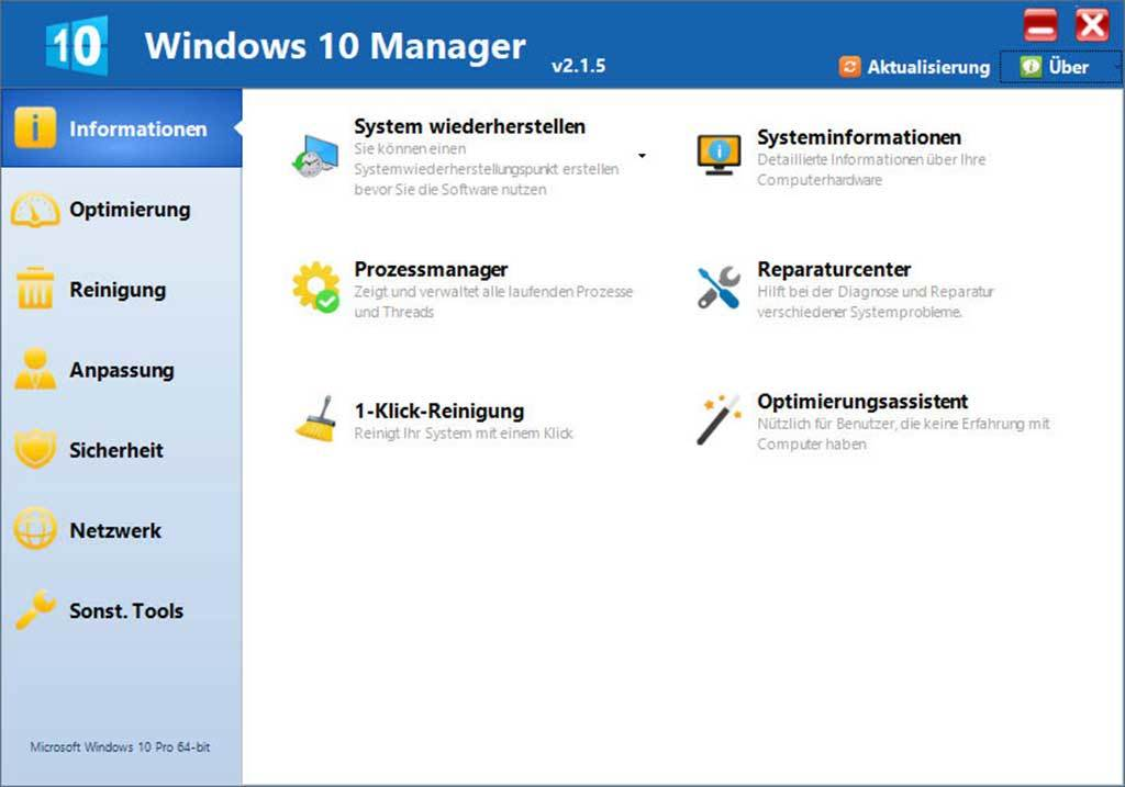 BHV Software - Yamicsoft Windows 10 Manager