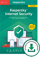 Kaspersky - Internet Security - Upgrade 1 Jahr 3 Geräte