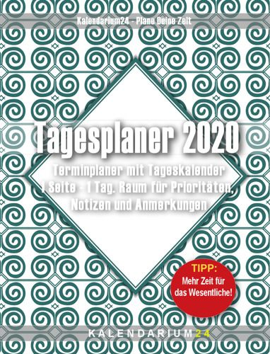 Cover Tagesplaner 2020