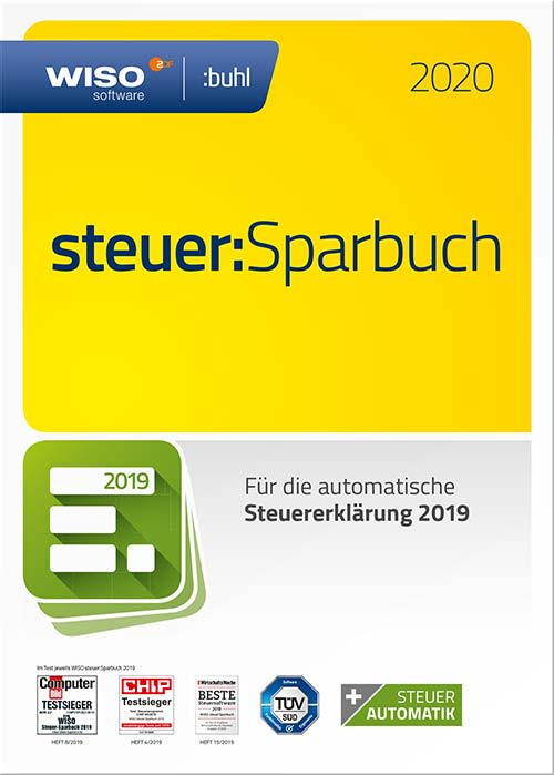 Buhl Data Wiso Steuer Sparbuch 2020 - 1