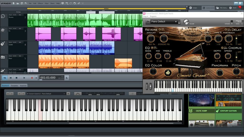 MAGIX Music Maker 2020 80s Edition
