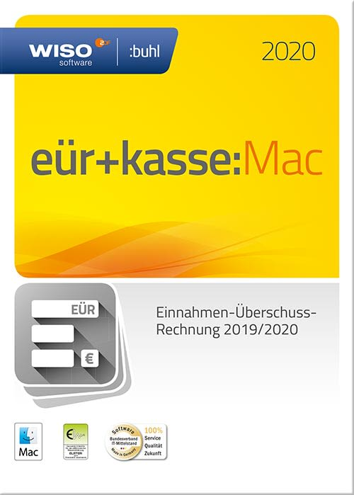 Buhl Data Wiso Euer Kasse Mac 2020 - 1
