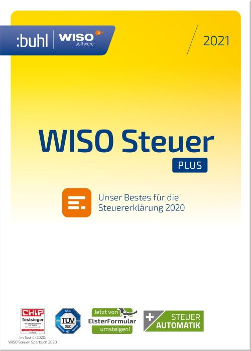 Buhl Data - WISO steuer Plus 2021 (Windows)