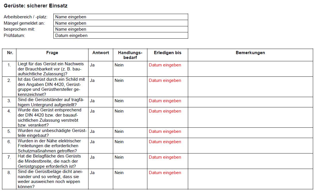 Formulare Checklisten Und Vordrucke Vom Steuerberater 14