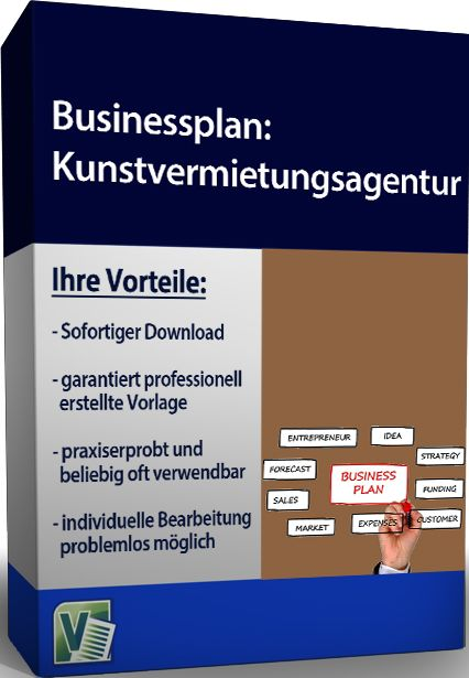 Businessplan - Kunstvermietung