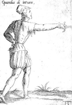 Guardia d'entrare from 1568