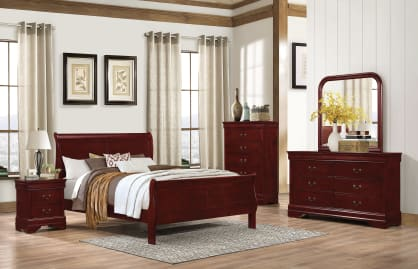 Picture of KG BED-LOUIS PHILLIPE