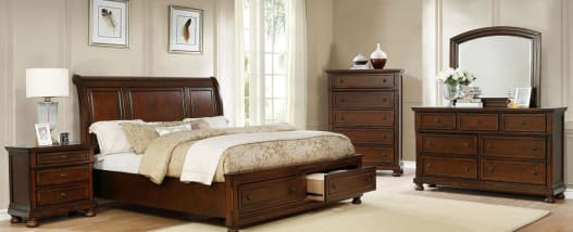 Picture of B125KN STORAGE BED