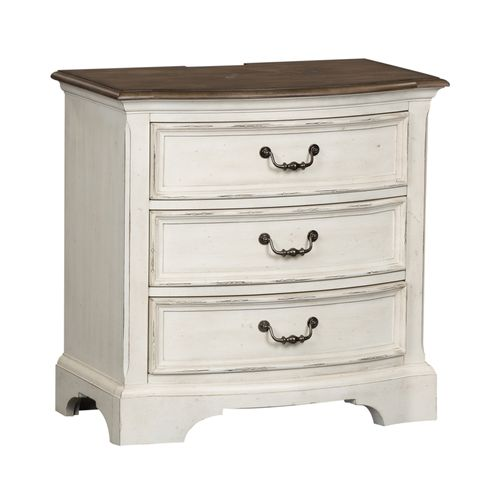 Picture of CARNABY 3 DRAWER NIGHT STAND