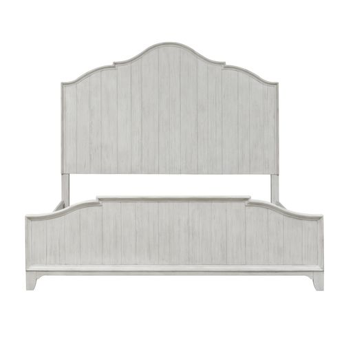 Picture of KING FARMHOUSE PANEL BED