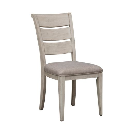 Picture of FARMHOUSE LADDER BK SIDE CHAIR