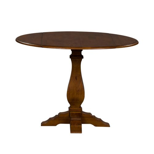 Picture of BUTTERFLY LEAF TABLE-TOBACCO