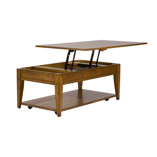 Picture of LIFT TOP COCKTAIL-OAK