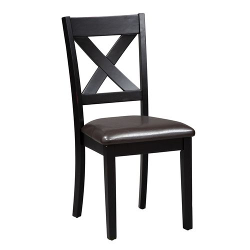 Picture of 7 PIECE RECT DINING, BLACK