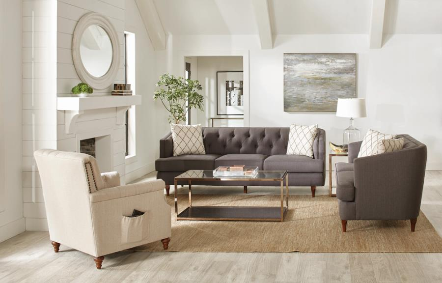 Picture of CORA TUFTED BACK LOVESEAT