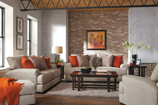 Picture of OTTOMAN-BEIGE