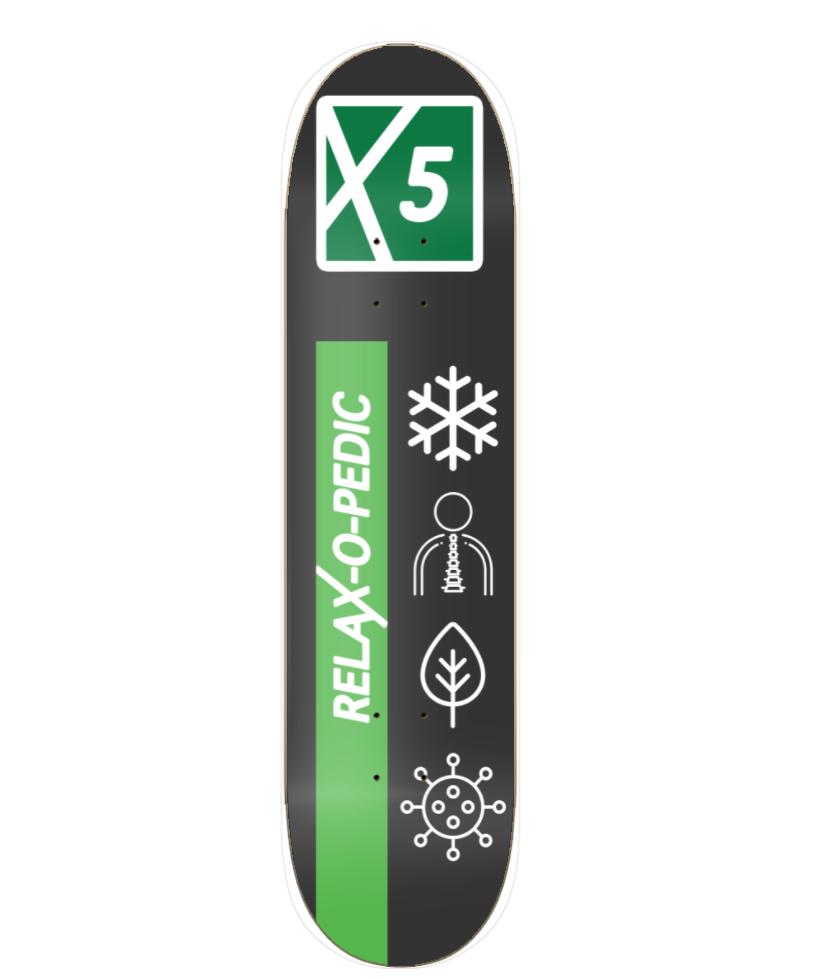 Picture of RELAXOPEDIC SKATE DECK